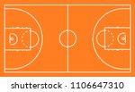 basketball arena.marking of...   Shutterstock .eps vector #1106647310