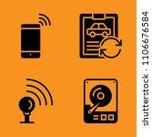 hardware  disc  garage and... | Shutterstock .eps vector #1106676584