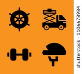 icon  handle  protective and... | Shutterstock .eps vector #1106678984