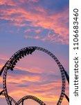 silhouette of people having fun ...   Shutterstock . vector #1106683460