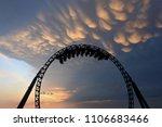 silhouette of people having fun ...   Shutterstock . vector #1106683466