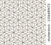 vector seamless pattern. modern ... | Shutterstock .eps vector #1106689673