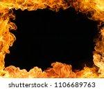 fire border background   Shutterstock . vector #1106689763