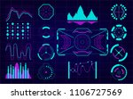 set of futuristic user...