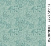 floral seamless texture with a...   Shutterstock .eps vector #1106734448