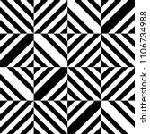 seamless pattern with black... | Shutterstock .eps vector #1106734988