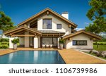 3d rendering of modern cozy... | Shutterstock . vector #1106739986