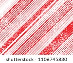 grunge red stripes. overlay... | Shutterstock .eps vector #1106745830