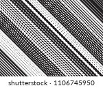 grunge white and black stripes. ... | Shutterstock .eps vector #1106745950