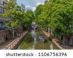 utrecht  netherlands   18th... | Shutterstock . vector #1106756396