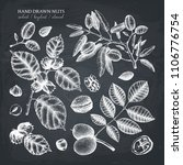 vector collection of hand drawn ... | Shutterstock .eps vector #1106776754