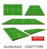 football green fields vector... | Shutterstock .eps vector #1106777390