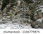 the high beautiful steep rocky... | Shutterstock . vector #1106779874