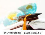 graduate or education knowledge ... | Shutterstock . vector #1106780153