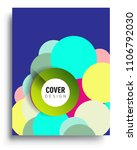 abstract colorful background... | Shutterstock .eps vector #1106792030