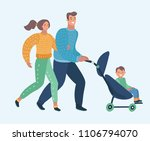 vector cartoon illustration... | Shutterstock .eps vector #1106794070