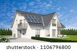 harvesting renewable energy... | Shutterstock . vector #1106796800
