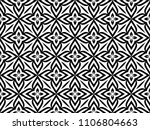 abstract geometric pattern with ... | Shutterstock .eps vector #1106804663