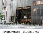 new york  usa   may 27  2018  ... | Shutterstock . vector #1106810759