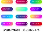 set of bright colorful apply... | Shutterstock .eps vector #1106822576