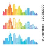 Vector Of Colorful London...