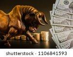 financial investment in bull... | Shutterstock . vector #1106841593