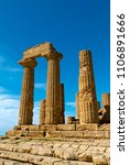 valley of the temples  valle...   Shutterstock . vector #1106891666