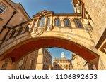 bridge of sights  hertford...   Shutterstock . vector #1106892653