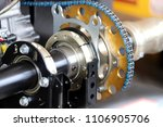 chains in the engine automotive ... | Shutterstock . vector #1106905706