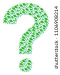answer figure made from natural ... | Shutterstock .eps vector #1106908214
