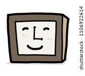 smile clock   cartoon vector... | Shutterstock .eps vector #1106922614