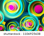 abstract colorful background... | Shutterstock . vector #1106925638