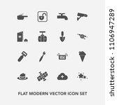 modern  simple vector icon set... | Shutterstock .eps vector #1106947289