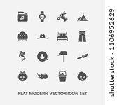 modern  simple vector icon set... | Shutterstock .eps vector #1106952629