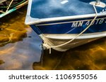 close up front of fishing boat...   Shutterstock . vector #1106955056