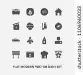 modern  simple vector icon set... | Shutterstock .eps vector #1106960033