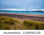 sand dunes and windswept... | Shutterstock . vector #1106965130