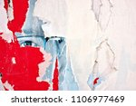 torn posters grunge creased... | Shutterstock . vector #1106977469