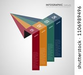 isometric infographic colorful... | Shutterstock .eps vector #1106989496