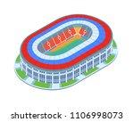 modern russia football stadium... | Shutterstock .eps vector #1106998073