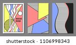 abstract geometric backgrounds... | Shutterstock .eps vector #1106998343