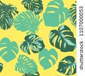 seamless tropical pattern....   Shutterstock .eps vector #1107000053