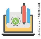 user experience design ...   Shutterstock .eps vector #1107005498