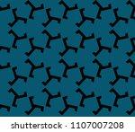 modern stylish texture.... | Shutterstock .eps vector #1107007208
