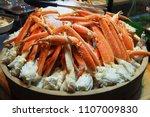 Close Up Alaska King Crab Legs...
