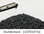 coal stacker and coal reclaimer ... | Shutterstock . vector #1107015716