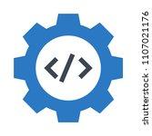 coding vector icon