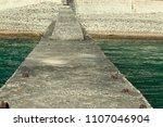 minimalistic landscape ... | Shutterstock . vector #1107046904