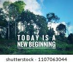 motivational and inspirational... | Shutterstock . vector #1107063044