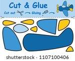 paper game for the development...   Shutterstock .eps vector #1107100406